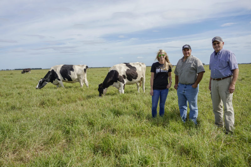 From left, Brittany Nickerson-Thurlow, Chad Rucks and Gary Keyes